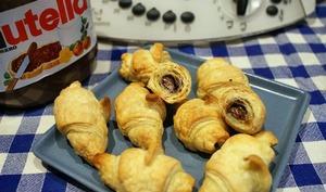 Mini croissant au nutella au thermomix facile et rapide