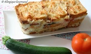 Croque-cake aux légumes