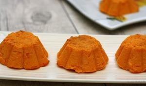Flan aux carottes et fromage