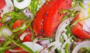 Salades de tomates