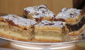 Sablés aux pommes, tarte aux pommes polonaise