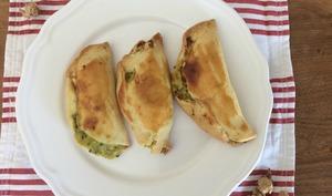 Empanadas à la courgette et emmental
