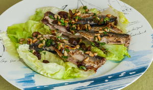 Sardines grillées à la mode sarde