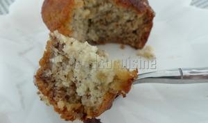 Muffins à la banane et à la noix de coco
