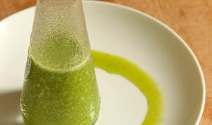 Huile d'olive parfumée à l'Aneth