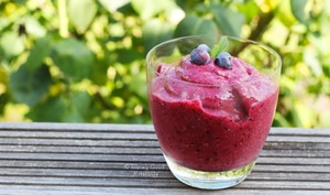 Chia Pudding aux Fruits Rouges