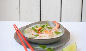 Soupe chinoise à la coriandre