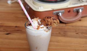 Milkshake ultra gourmand aux cookies