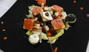 Salade aux saveurs méditerranéennes