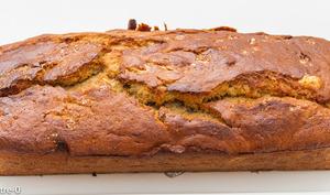 Gâteau du matin à la compote de rhubarbe