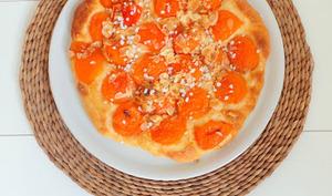 Tarte briochée à l'abricot