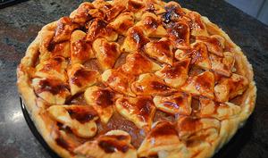 Tarte énamourée aux Pommes-Groseilles