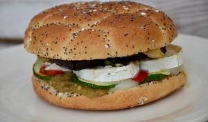 Burger végétarien aux légumes du soleil