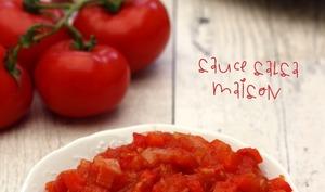 Sauce salsa maison