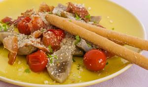 Poelée d'artichauts à l'italienne