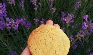 Biscuits citron et lavande