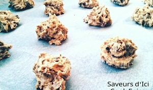 Véritable Cookies Chocolat Raisin Praliné