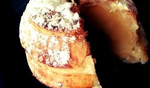 Pomme feuilletée caramel au beurre salé
