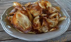Chips d'aubergine au sel de piment d'Espelette