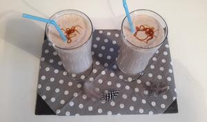 Smoothie banane lait de coco