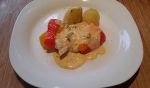 Filet de loup sauce béarnaise