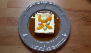 Cheesecake au citron et abricot