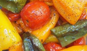 Mini-légumes d'été confits