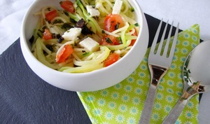 Salade aux deux spaghettis