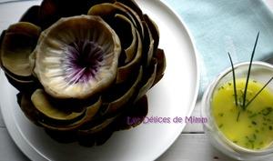 L'artichaut vinaigrette