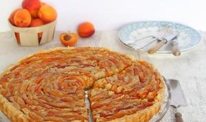 Tarte abricot - crème d'amande