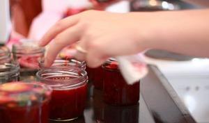 Compote de figues fraîches et pommes, au miel, à la vanille
