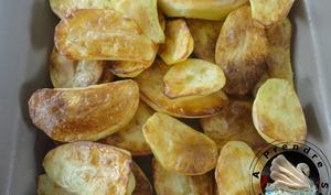 Pommes de terre grillées au four