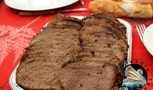 Rôti de bœuf en croûte d'herbes provençales
