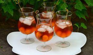 Cocktail fraicheur au melon