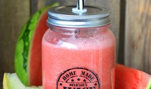 Smoothie pastèque et melon Galia