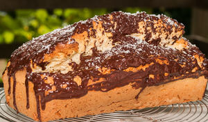 Gâteau du matin à la noix de coco