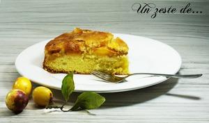 Gâteau renversé mirabelle