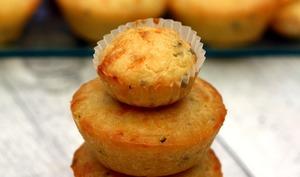 Muffins apéritifs au poulet et boursin