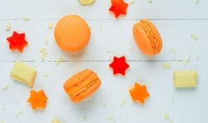 Macarons à l'abricot