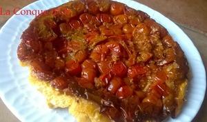 Tatin de tomates cerises au vinaigre balsamique