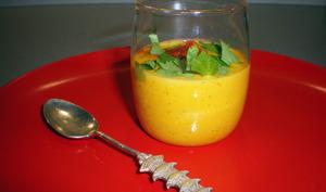 Crème de carottes au cumin