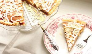 Tarte bakewell aux framboises