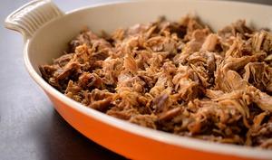 Porc effiloché ou pulled pork au four