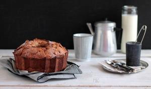 Bundt Cake Crème de Marrons et Pommes