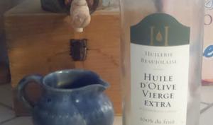 Saint-Marcellin à l'huile d'olive et au thym