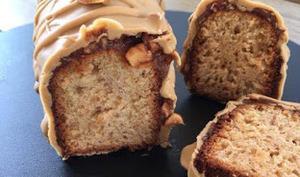 Cake Praliné Cacahuète Dulcey par Christophe Michalak