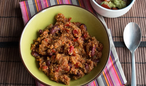 Quinoa à la mexicaine