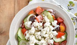 Salade grecque à la feta