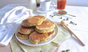 Racuszki, pancakes polonais en pâte levée