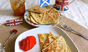 Tattie scones écossais